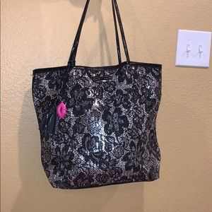 Betsey Johnson Sequin Tote Bag